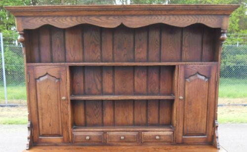Oak Dresser Rack by Hines